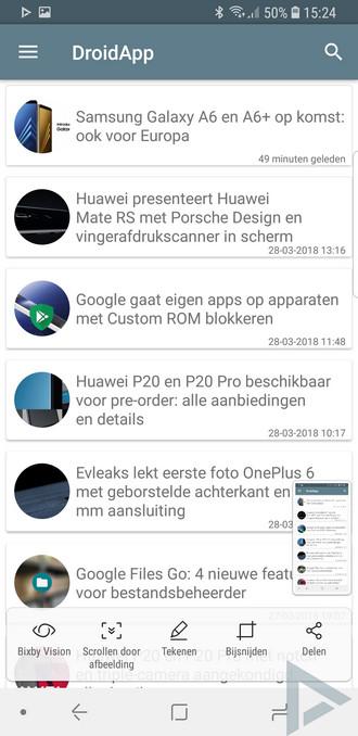 35+ handige tips en tricks voor de Samsung Galaxy S9 en S9+