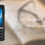 De vergeten telefoon: Sony Ericsson K850i