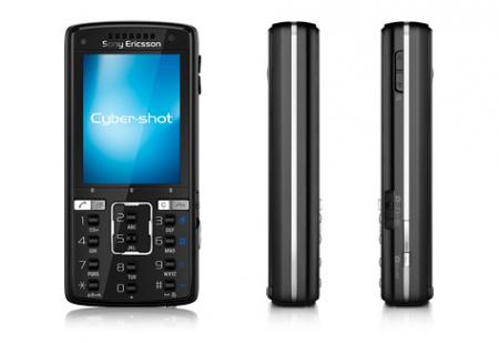 Sony Ericsson K850i zijkant