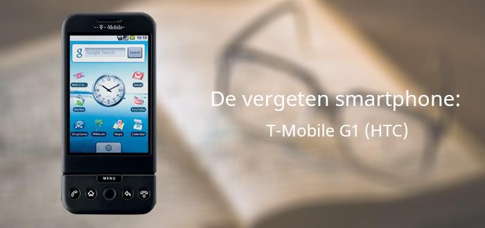 De vergeten smartphone: T-Mobile G1
