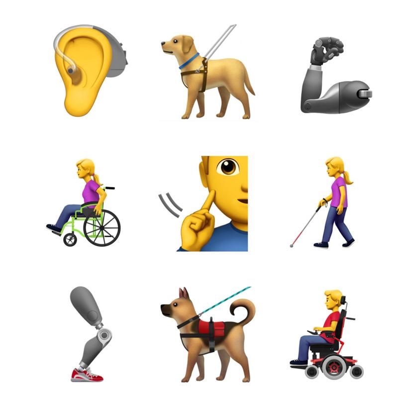 beperking emoji toegankelijkheid