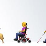 Binnenkort worden 45 emoji voor mensen met beperking toegevoegd