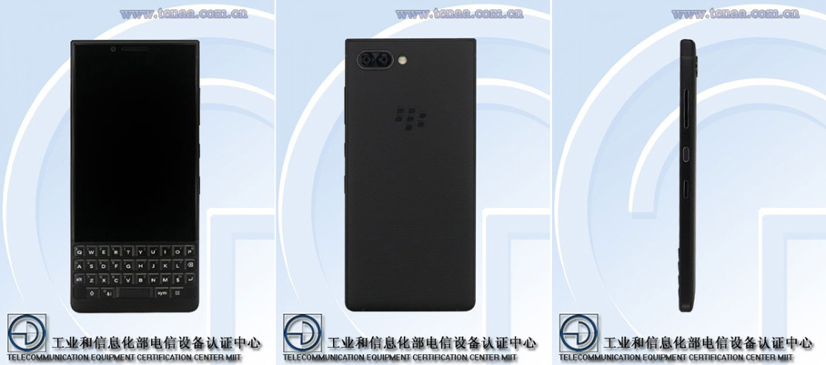 BlackBerry Key2 tenaa