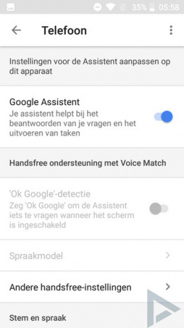 Google Assistent Nederlands 04