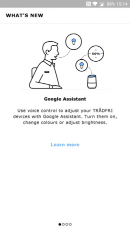 IKEA Tradfri Google Assistent