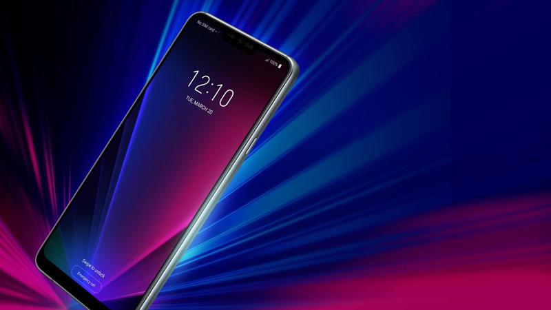 LG G7 ThinQ persfoto