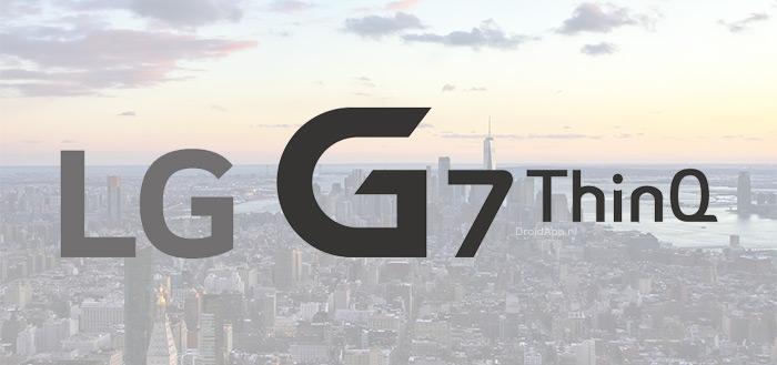 Definitief: LG G7 ThinQ wordt op 2 mei aangekondigd