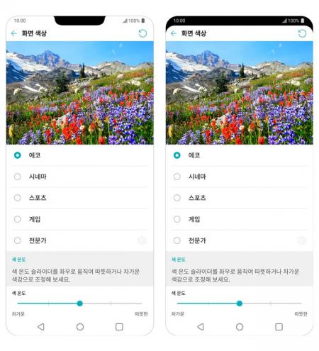 LG G7 ThinQ scherm