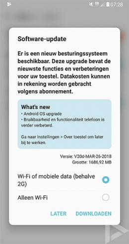 LG V30 Android 8.0 Oreo