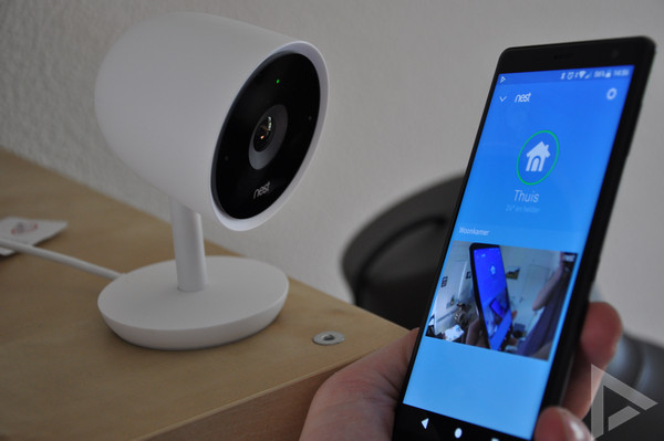 Nest app IQ Cam Indoor