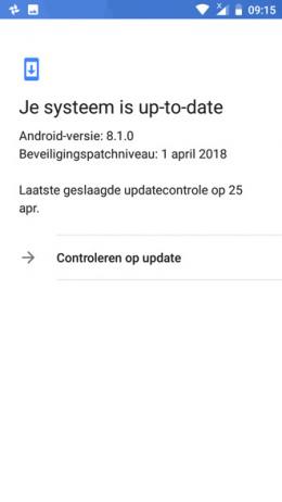 Nokia 5 Beveiligingsupdate april 2018