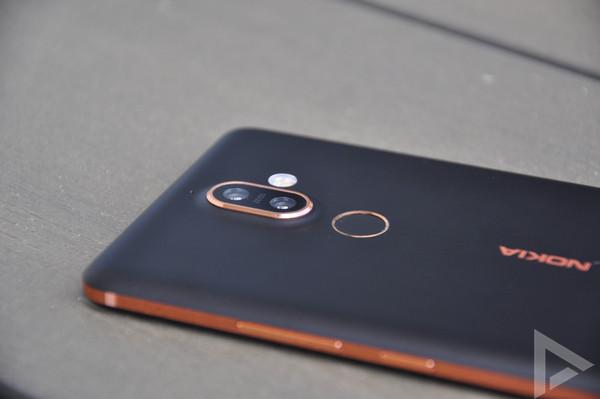 Nokia 7 Plus dual-camera