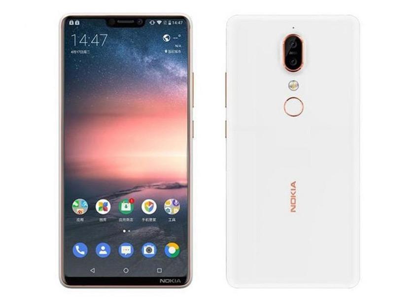 Nokia X6 render