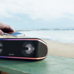 Draagbare Sony speakers met toffe verlichting en vriendelijke prijs nu te koop