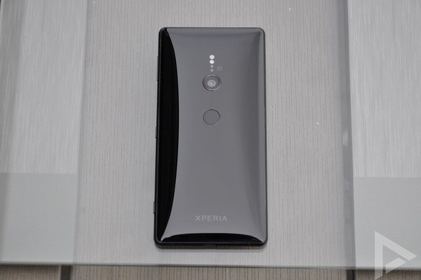 Sony Xperia XZ2 test