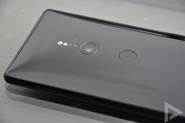 Sony Xperia XZ2 vingerafdrukscanner