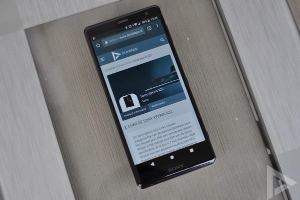 Sony Xperia XZ2 internet