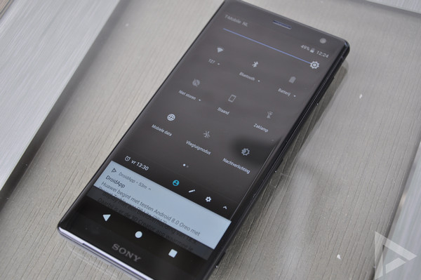 Sony Xperia XZ2 notificaties