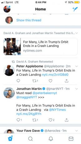 Twitter gebundelde tweets