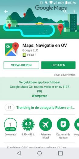 Google Play Store vergelijkbare app
