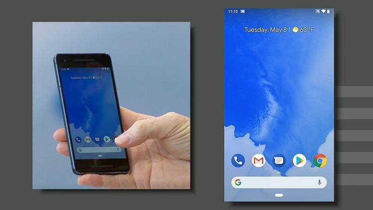 Android P multitasking gestures