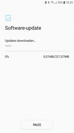 Galaxy J5 beveiligingsupdate april 2018