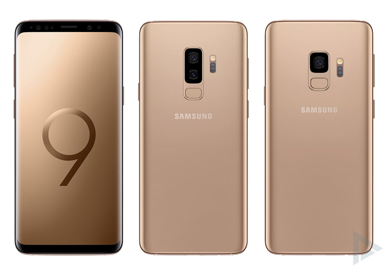 Galaxy S9 Sunrise Gold