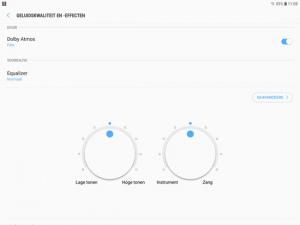 Galaxy Tab S3 Dolby Atmos