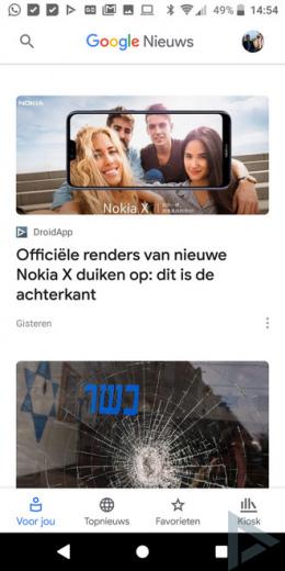 Google Nieuws 5.0