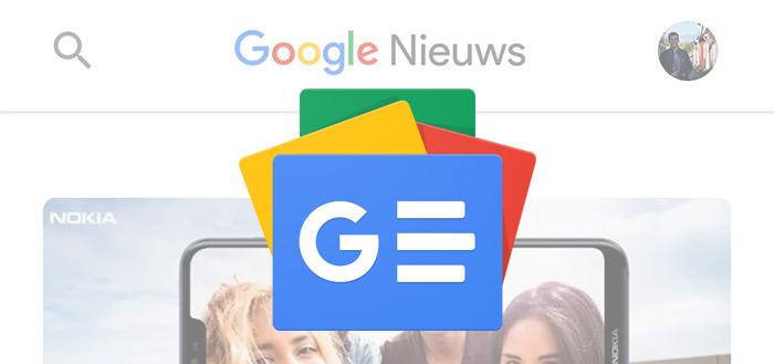 Google Nieuws 5.5 update brengt (automatisch) donker thema