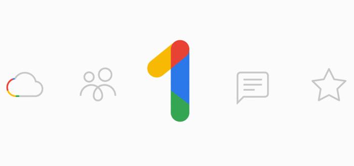 Google One: nieuwe pakketten en prijzen voor online opslagruimte