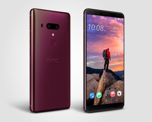 HTC U12+ Flame red
