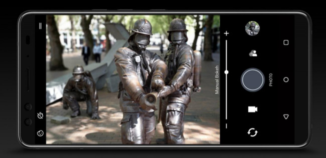 HTC U12 Plus camera