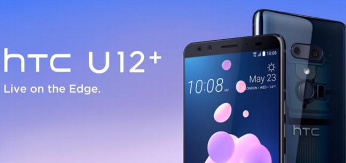 HTC U12+ ontvangt belangrijke update: auto-zoom in camera, fix voor knoppen
