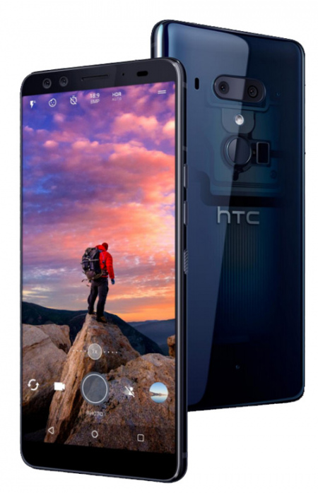HTC U12 Plus Translucent Blue