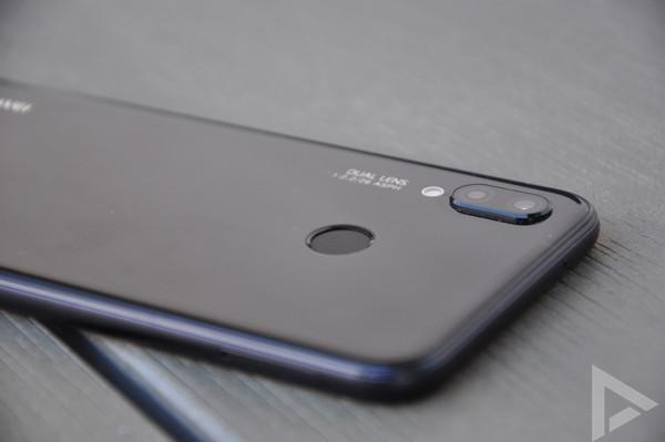 Huawei P20 Lite vingerafdrukscanner