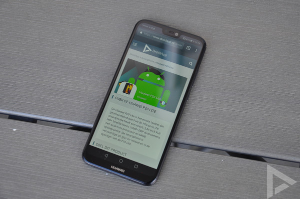 Huawei P20 Lite screenshot maken