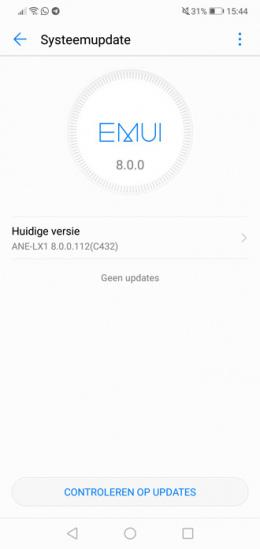 Huawei P20 Lite update