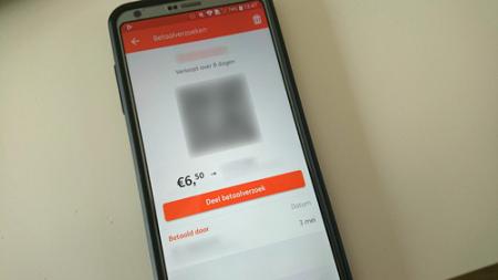 ING betaalverzoek