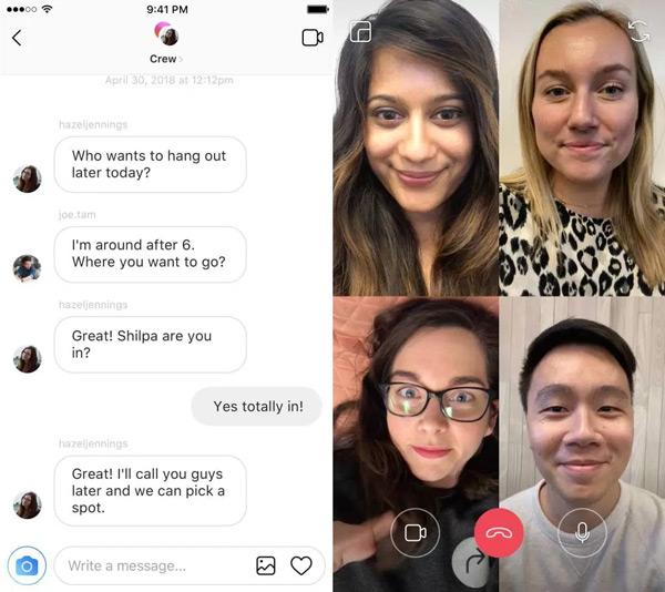 Instagram videobellen