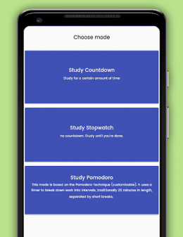 Its Study Time app