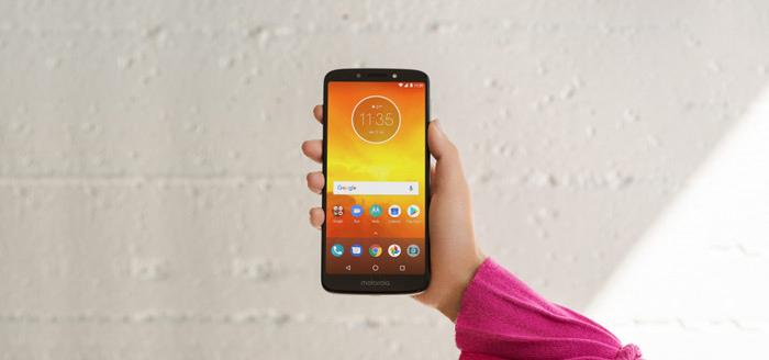 Motorola bereidt komst Moto E6 met Android Pie voor