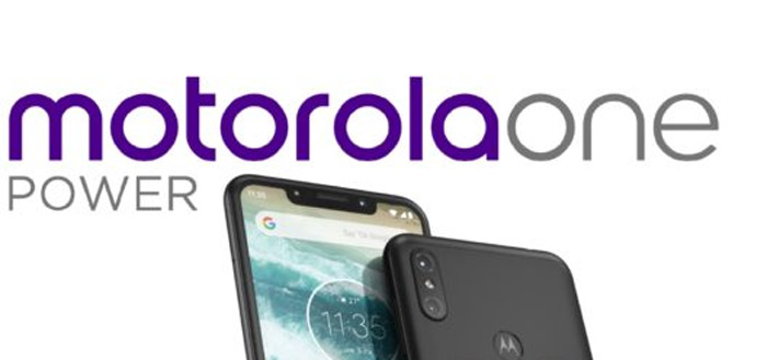 Motorola One Power opgedoken: met notch en dual-camera