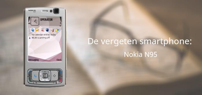 De vergeten smartphone: Nokia N95