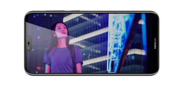 Nokia X6 scherm