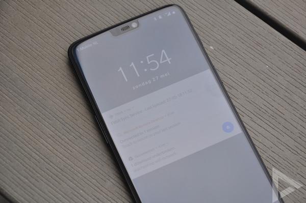 OnePlus 6 vergrendelscherm