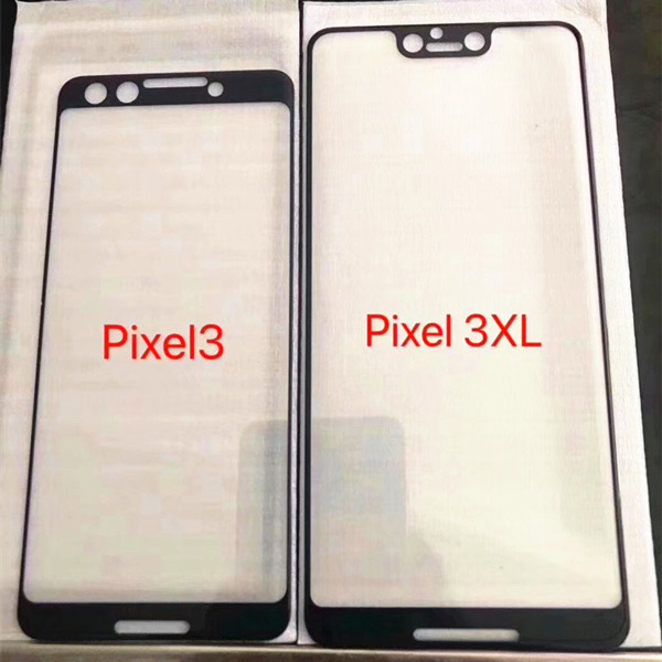 Pixel 3 voorkant