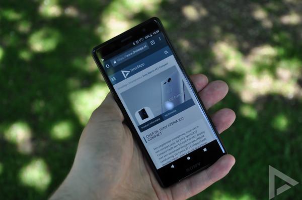 Sony Xperia XZ2 Compact internet