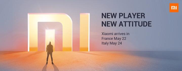 Xiaomi Frankrijk Italie