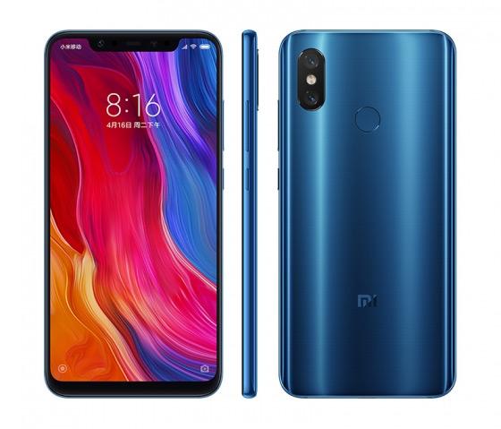 Xiaomi Mi 8 Blauw